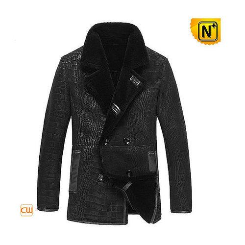 Sheepskin Leather Jacket Coat CW877055