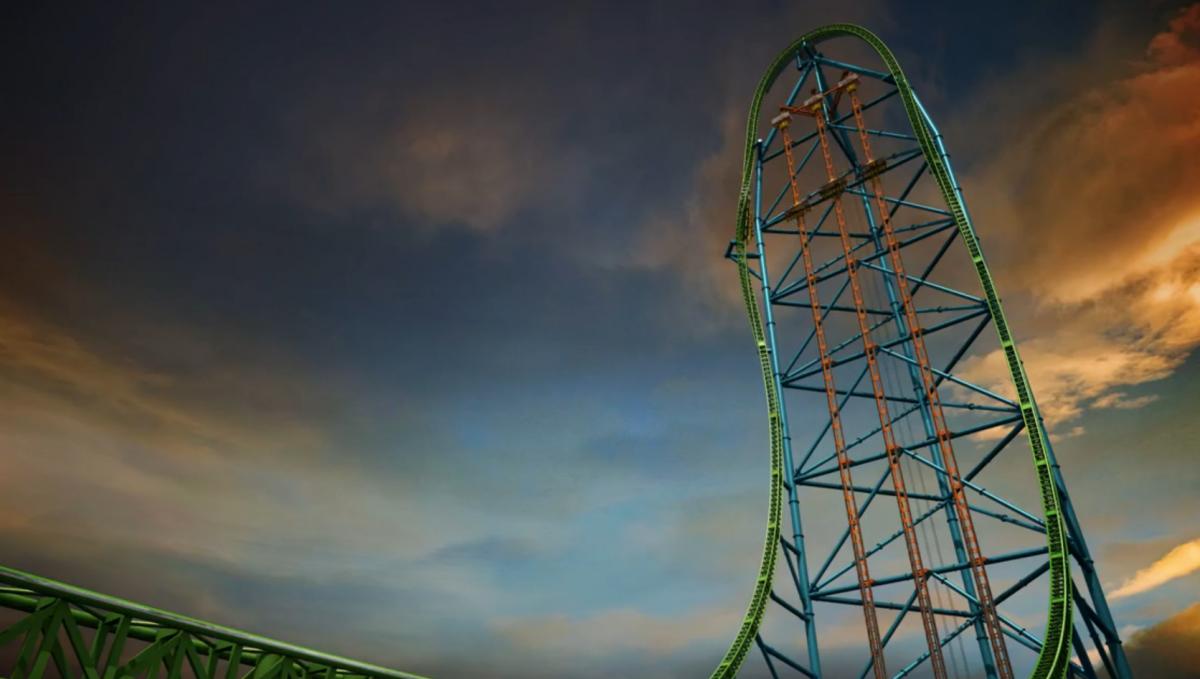 Zumanjaro: Drop of Doom (Six Flags Great Adventure, Jackson, NJ)