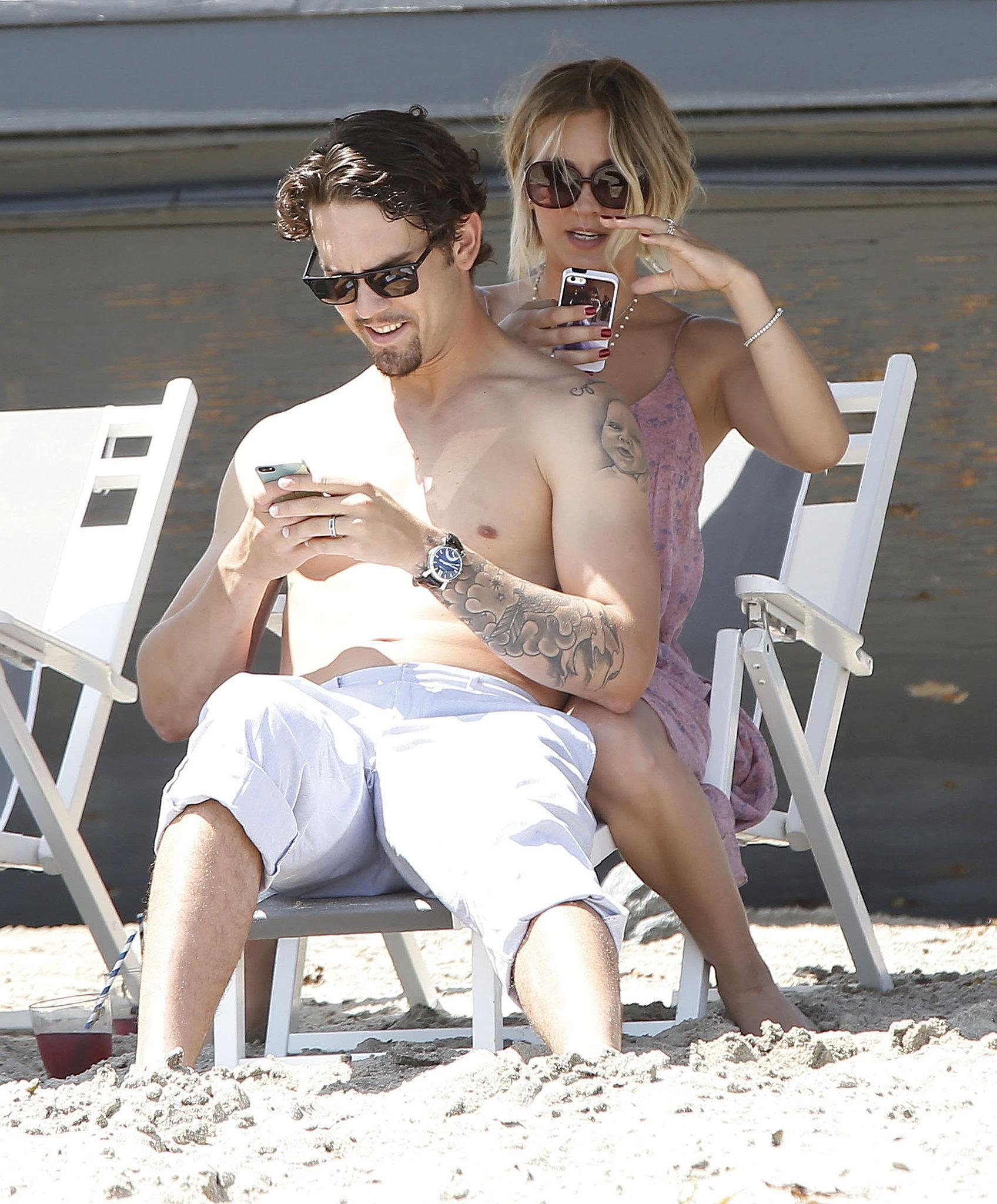 Sip, Selfie, Snuggle: Kaley Cuoco and Ryan Sweeting's Memorial Day PDA