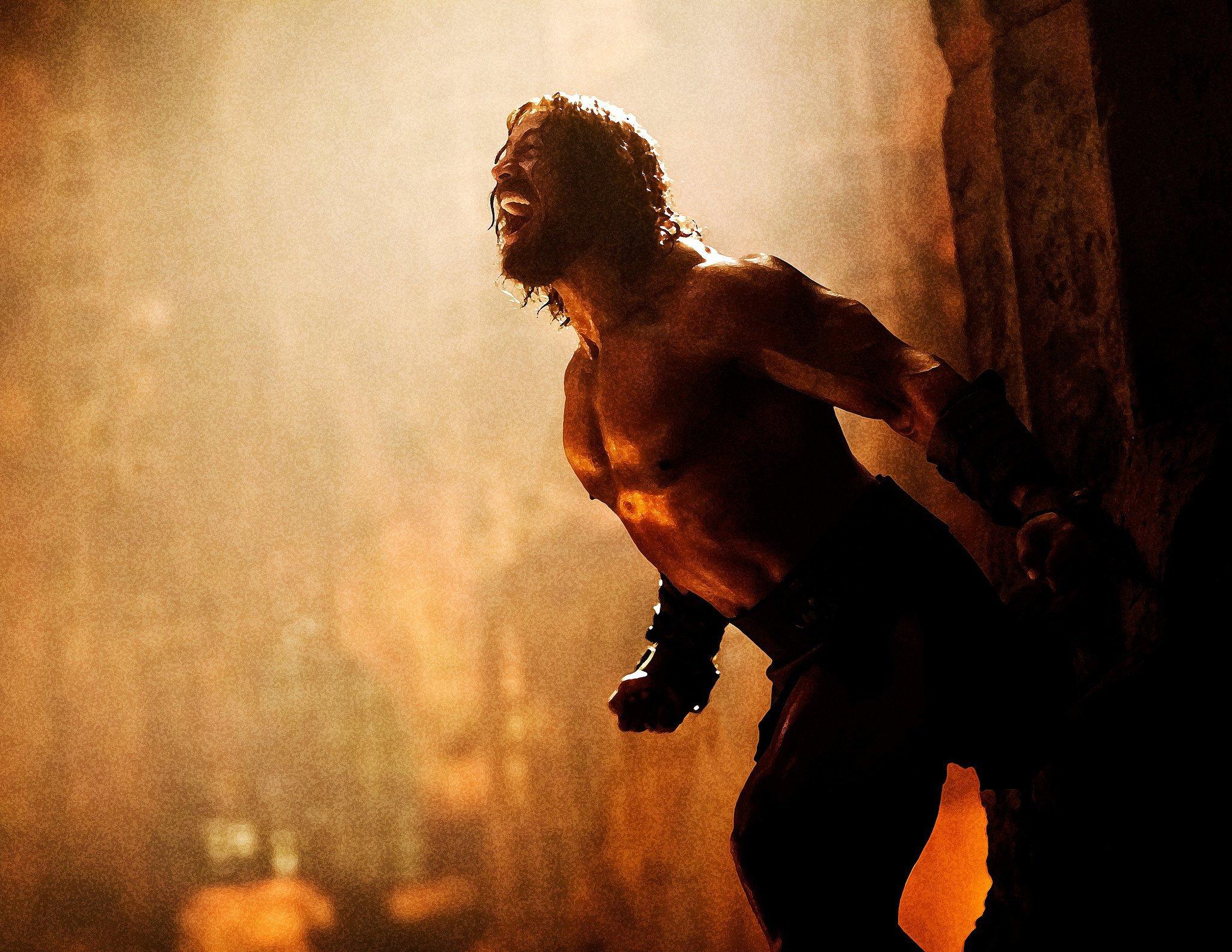 Dwayne Johnson in Hercules