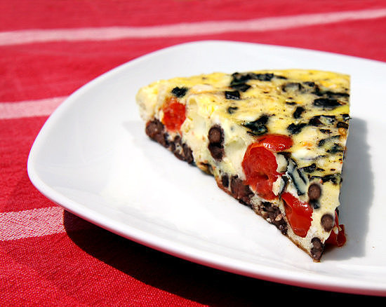 Red, White, and Bean Frittata