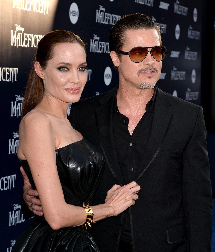 Angelina Jolie and Brad Pitt Make Maleficent a Family Affair