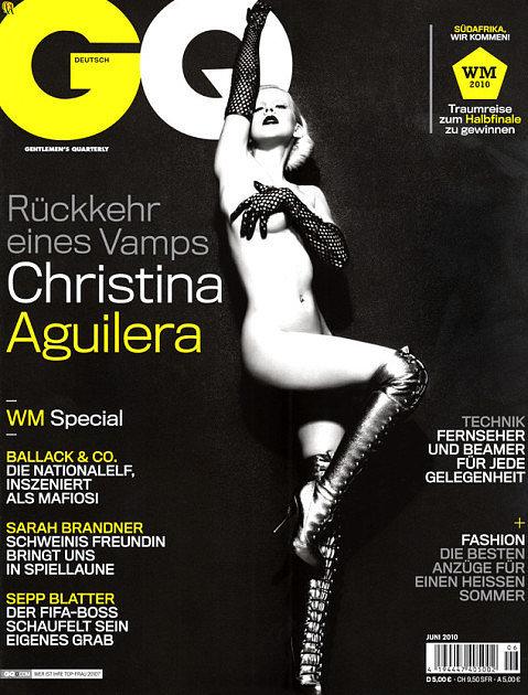 Christina Aguilera For German GQ, June 2010
