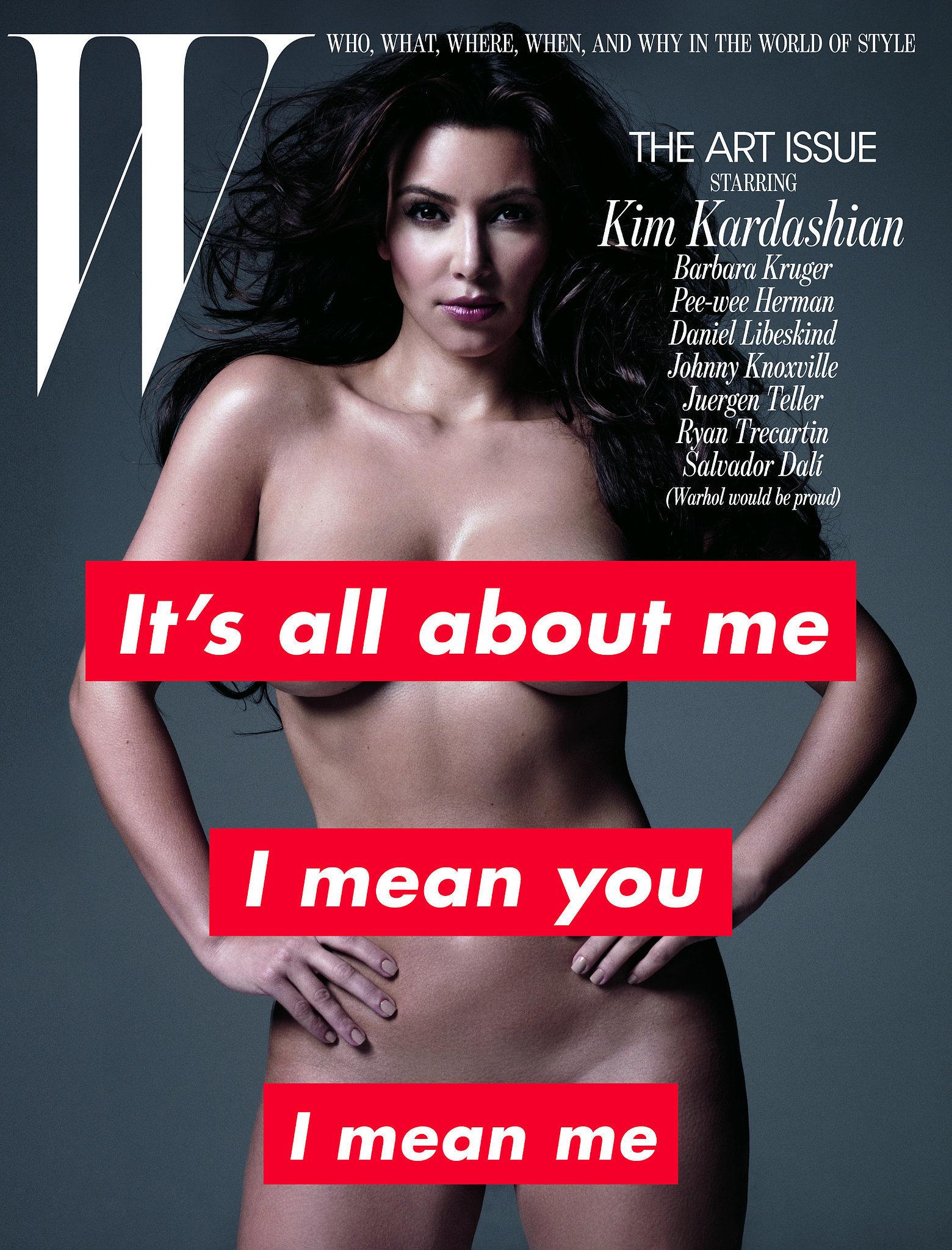 Kim Kardashian For W Magazine, November 2011