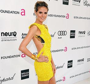 Heidi Klum's Sexiest Dresses