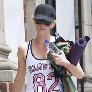 Elle Fanning Working Out in LA