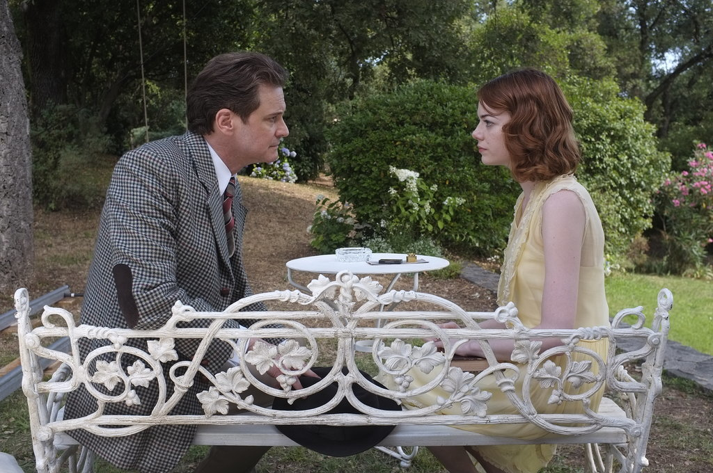 Colin Firth and Emma Stone: 28 Years