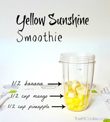 Drink the Rainbow: Yellow Sunshine Smoothie