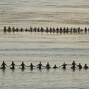 Santa Barbara Memorial Paddle-Out May 2014 | Pictures