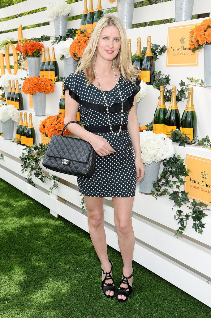 Nicky Hilton's dress showcased her stems.