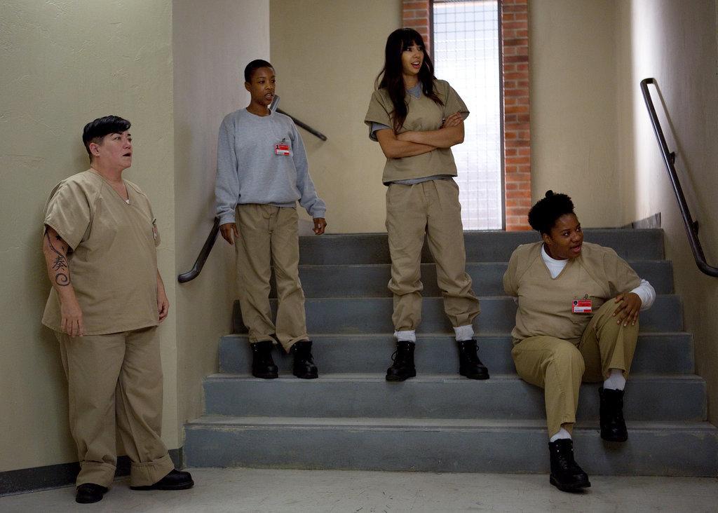 The ladies hold court. Source: Netflix