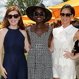 Lupita Nyong'o at 2014 Veuve Clicquot Polo Classic | Video