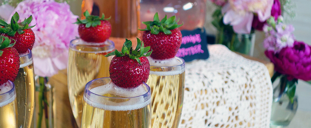 Make Your Wedding Pinterest-Worthy With These DIY Champagne Bar Ideas