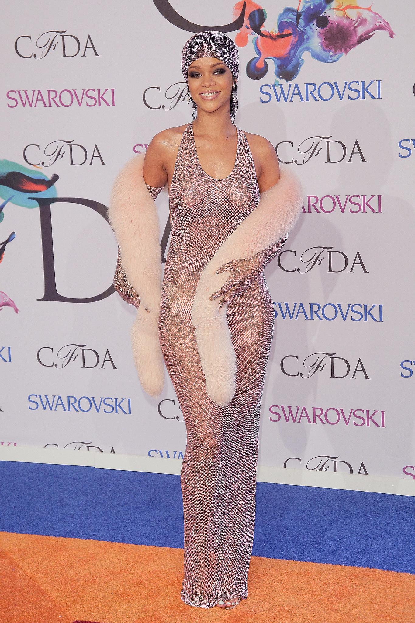 Rihanna at the 2014 CFDA Awards