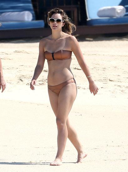 Katharine McPhee Brings Her Bikini South of the Border