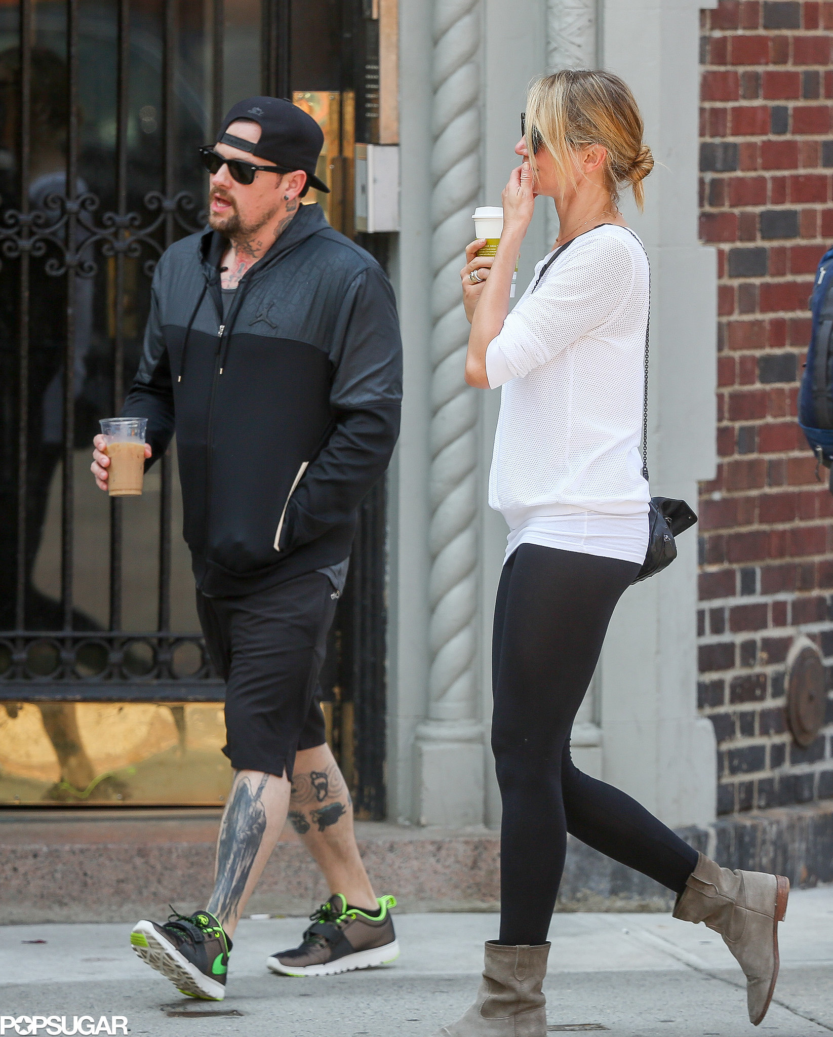 Cameron Diaz and Benji Madden Go Public With PDA!