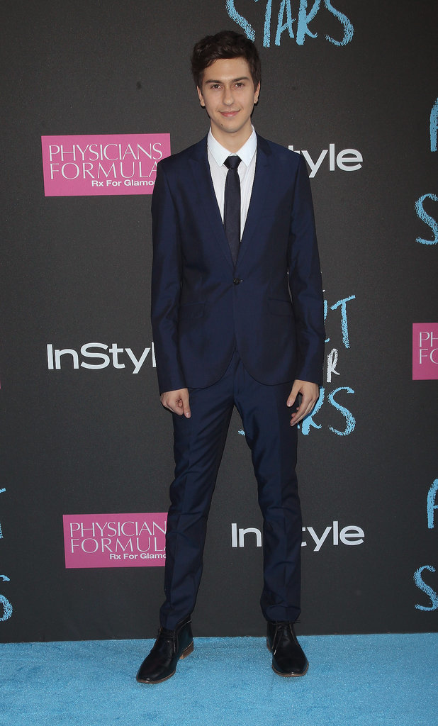 """Nat Wolff said that working with John Green was great because of his positive feedback. """"When he said, 'Guys, this is just how I imagined it in my head,' it makes you feel like the fans are going to like it as much as he did,"""" he told reporters."""