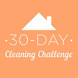 30-Day Cleaning Challenge Printable