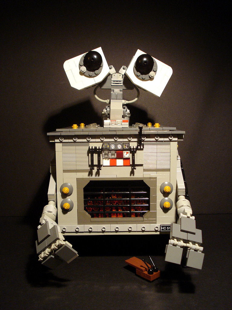 Steampunk Wall-E