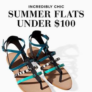 Flat Summer Sandals Under $100 | Shopping
