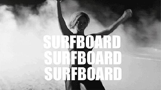 11. And you can ride it with your surfboard (surfboard, surfboard).
