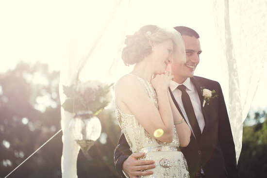 As If This Wedding Wasn't Stunning Enough —Just Look at That Dress!