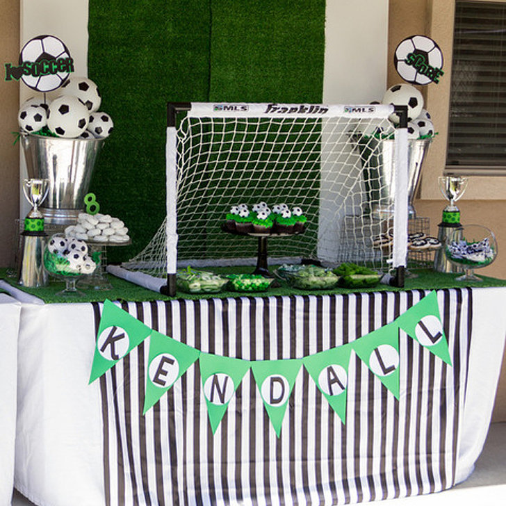Girls Soccer Birthday Party Popsugar Moms