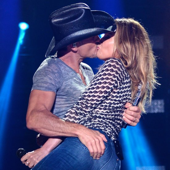 Tim McGraw and Faith Hill PDA at CMA Festival 2014