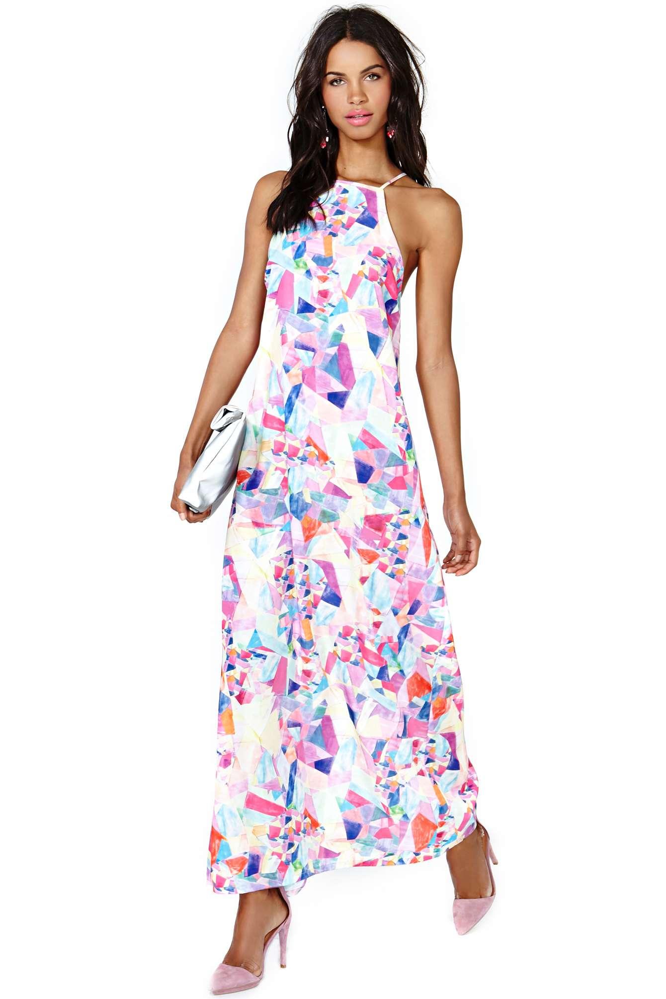 Nasty Gal Maxi Dress ($88)