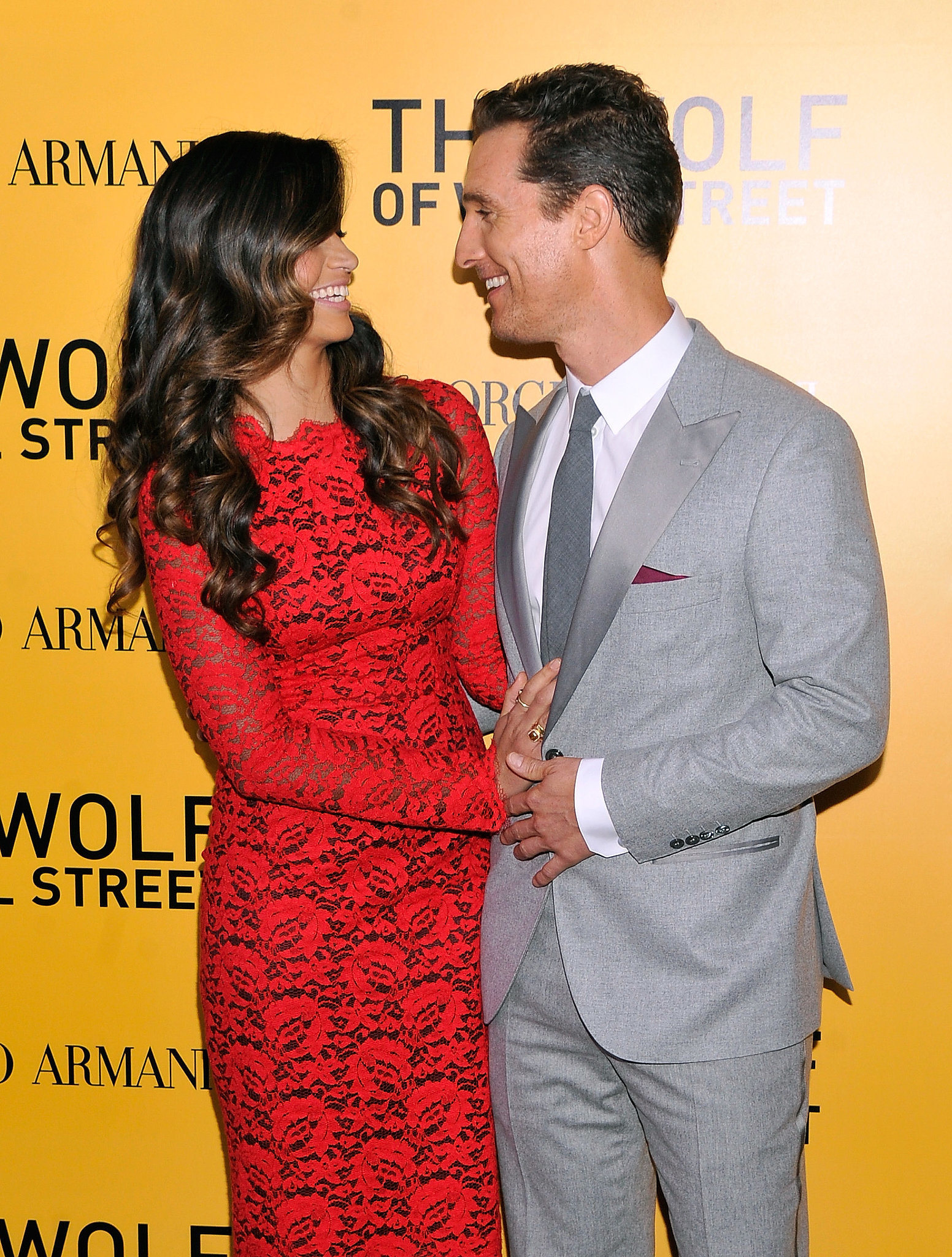 Matthew and Camila only had eyes for each other at a Wolf of Wall Street premiere in December 2013.