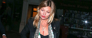 Only Kate Moss Can Wear Leopard Print Like This!