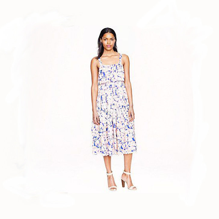 J.Crew Collection Silk Floral Dress ($398)