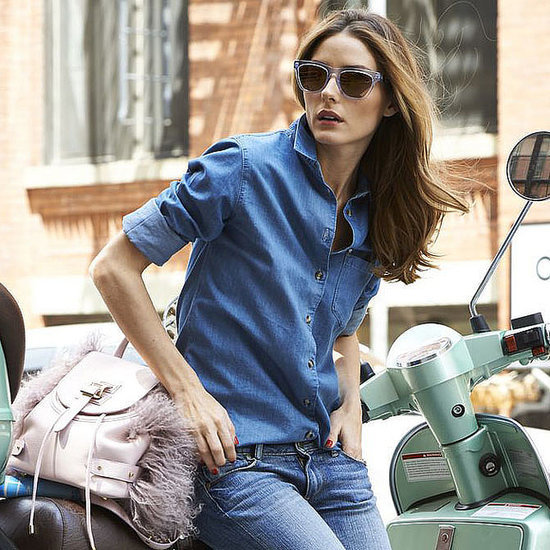 Olivia Palermo Wearing Westward Leaning Sunglasses