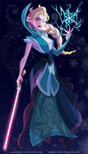 Star Wars Elsa