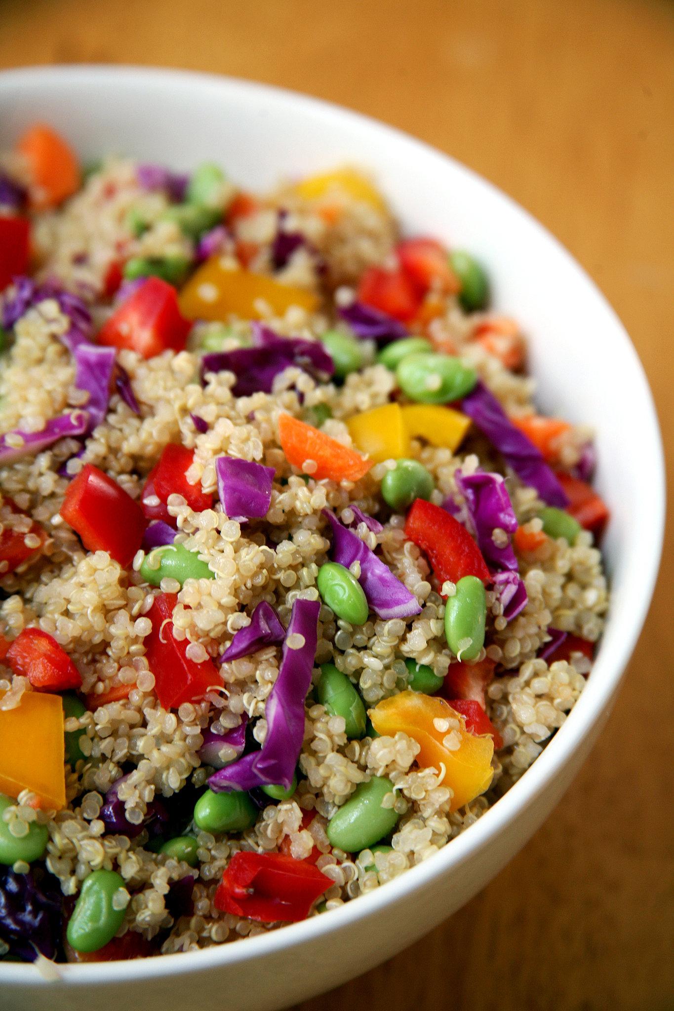 Sesame Ginger Quinoa Salad