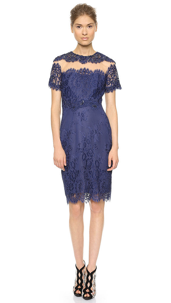 Notte by Marchesa Lace Sheath Dress