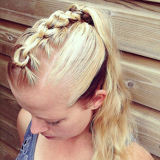 Chain-Link Center Braid