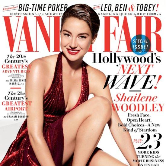 Shailene Woodley Interview in Vanity Fair | July 2014