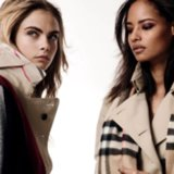 See Cara Delevingne's Burberry Campaign on POPSUGAR Live!