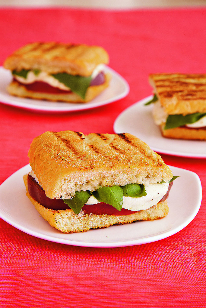 Next-Level Grilled Caprese Sandwich