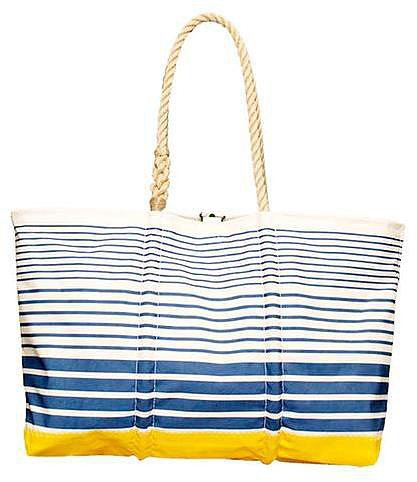 Athleta Striped Tote