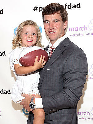 Eli Manning Is 'Enjoying Every Moment' of Fatherhood