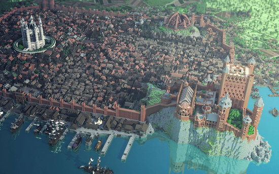 Minecraft and Game of Thrones Meet in One Epic Tribute