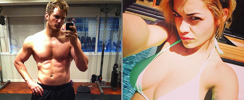 The Sexiest Celebrity Selfies in 60 Seconds