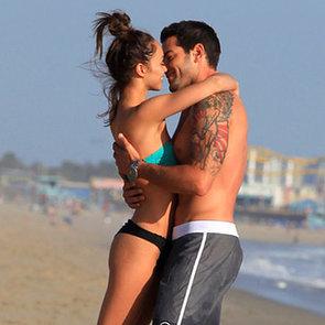 Celebrity PDA on the Beach   Video