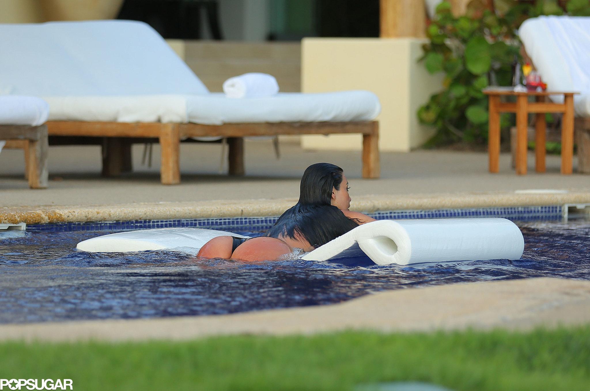 NSFW! Kim Kardashian's Revealing Mexico Bikini Photo Shoot
