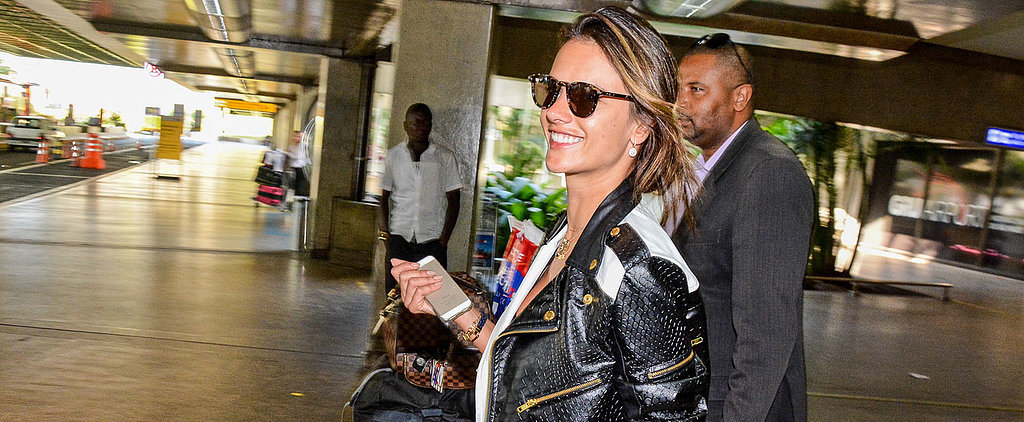 All the Times Alessandra Ambrosio Put Your Airport Style to Shame