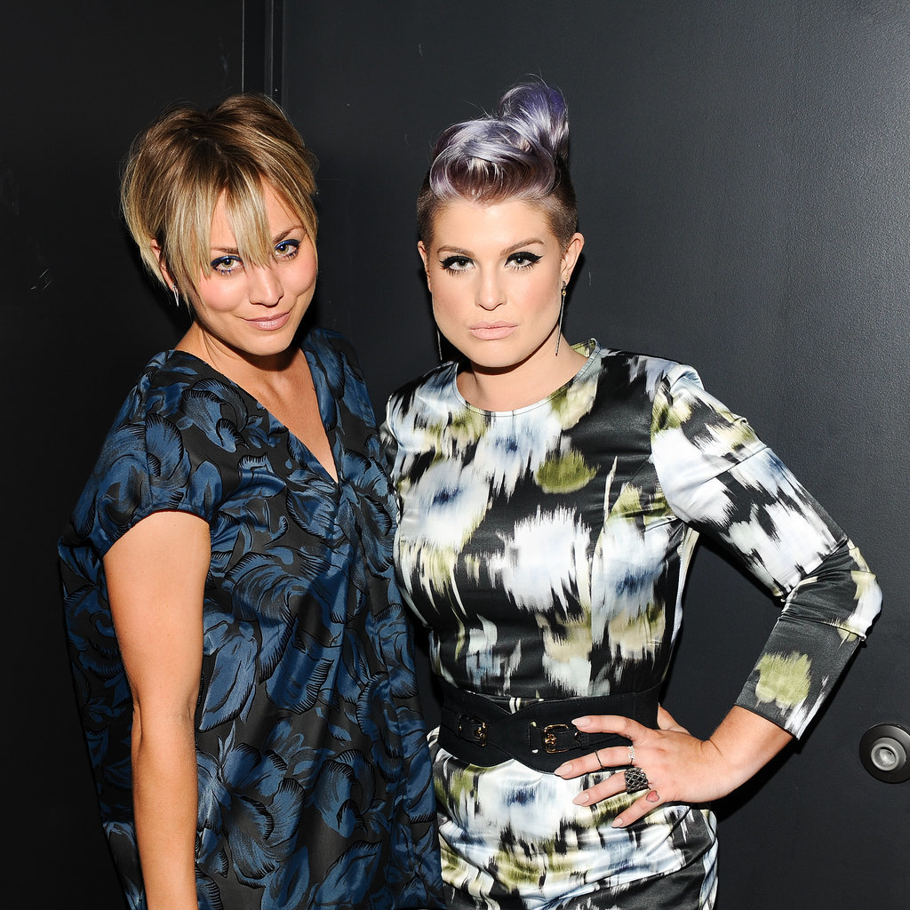 Kaley Cuoco and Kelly Osbourne