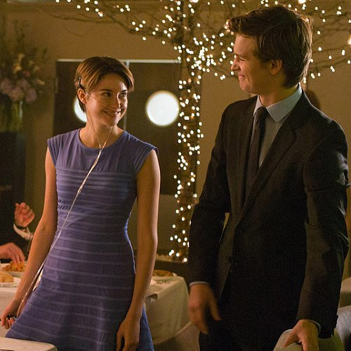 Shailene Woodley's Blue Dress in The Fault in Our Stars