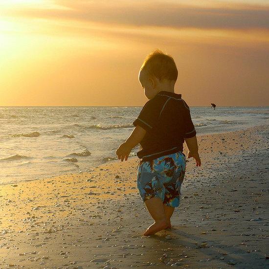 Photos of Babies on the Beach